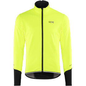 GORE WEAR C5 Windstopper Thermo Jacket Men neon yellow/black